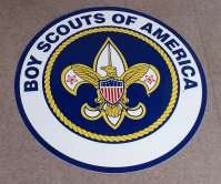 Boy Scout Floor Decal